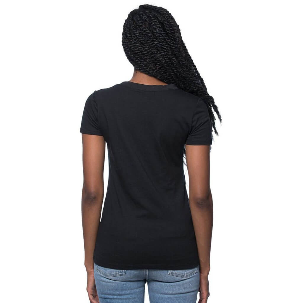 cannabis women v-neck shirt