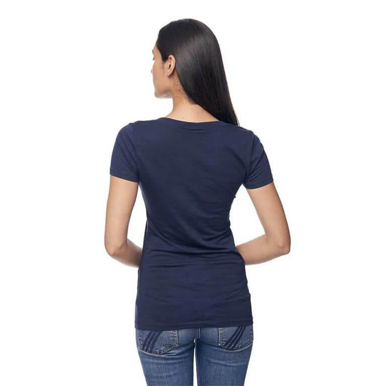 women cannabis v-neck shirt