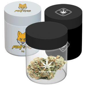 3 oz custom glass jars