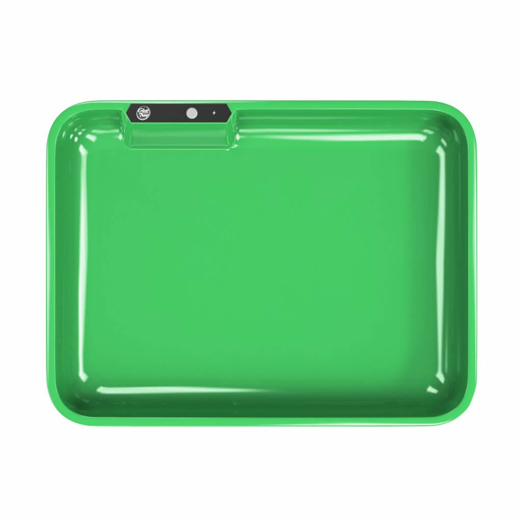 green led glow rolling tray template