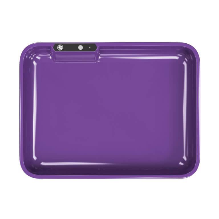 Purple led glow rolling tray template