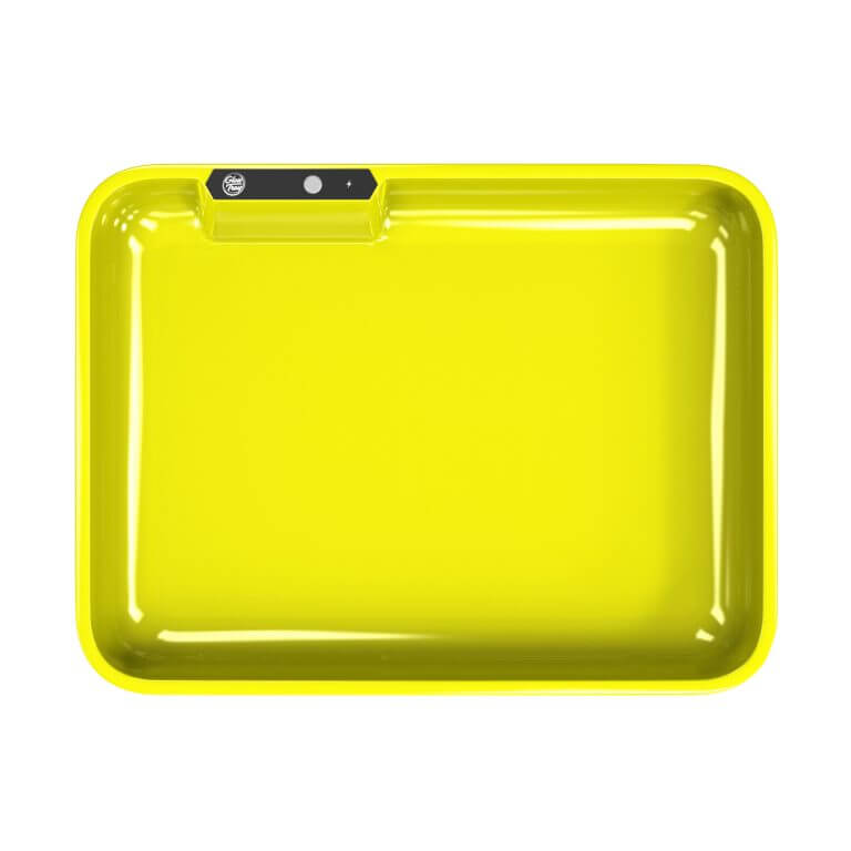 yellow led glow rolling tray template