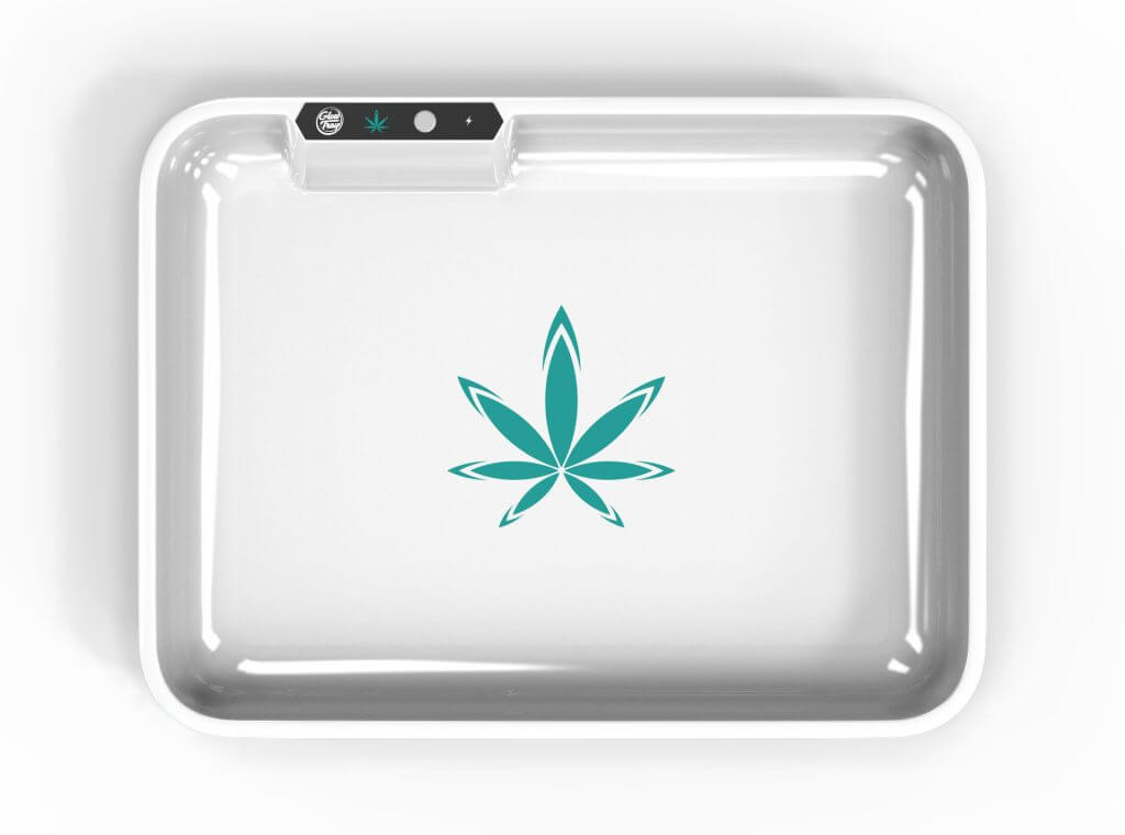 white led glow rolling tray template